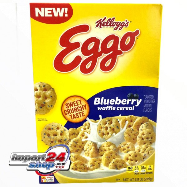 Kellogg's Eggo Blueberry
