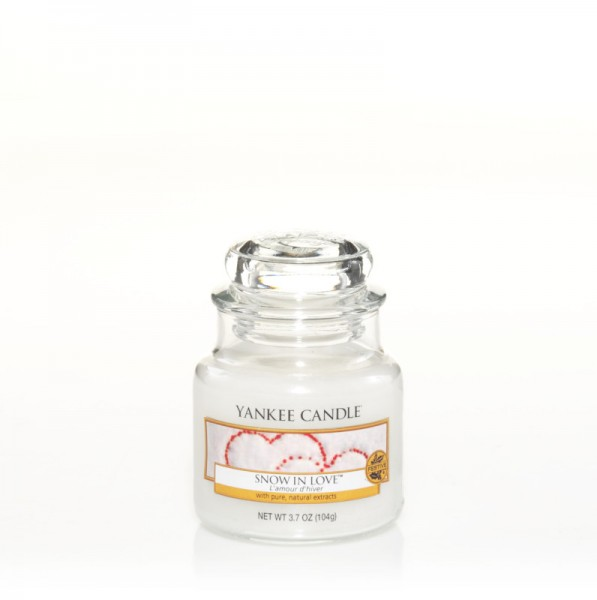Yankee Candle Classic Kleines Glas Snow In Love™