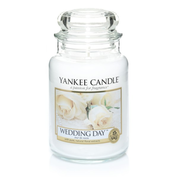 Yankee Candle Classic Großes Glas Wedding Day®