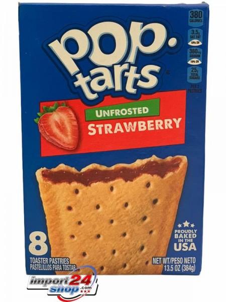 Kellogg's Pop Tarts Unfrosted Strawberry