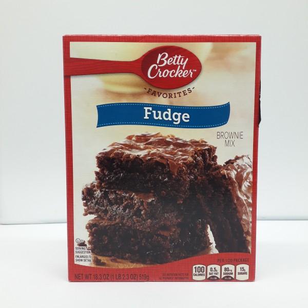 Betty Crocker - Fudge Brownie Mix
