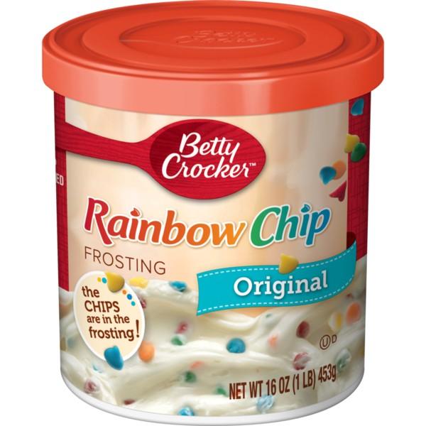 Betty Crocker Frosting - R&C Rainbow Chip (453 g.)