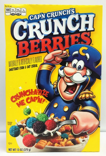 Quaker Cap'n Crunch Crunch Berries (370g)