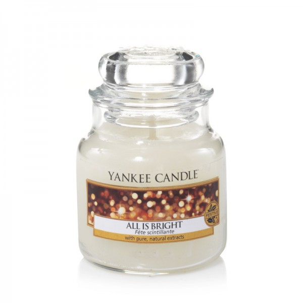 Yankee Candle Classic Kleines Glas All is Bright