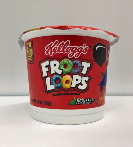 Kellogg's Froot Loops Cereal Single Cup