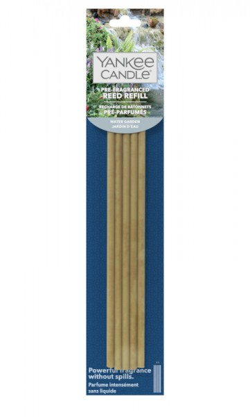 Yankee Candle Vorbeduftete Reeds Nachfüllpackung Water Garden