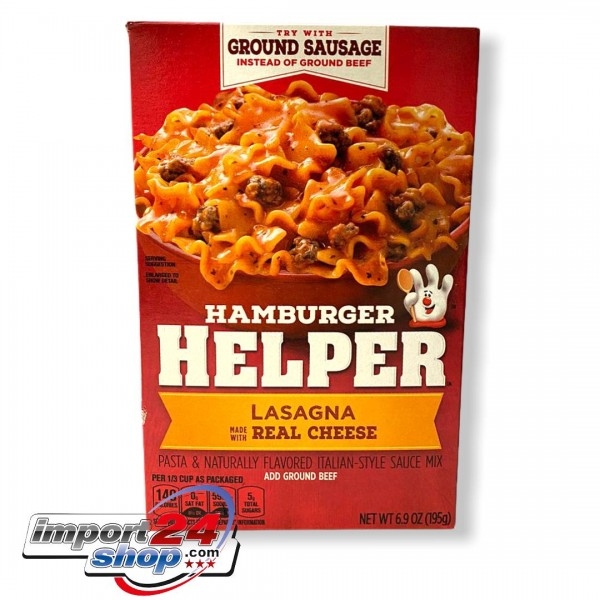 BC Hamburger Helper Lasagna made with Real Cheese