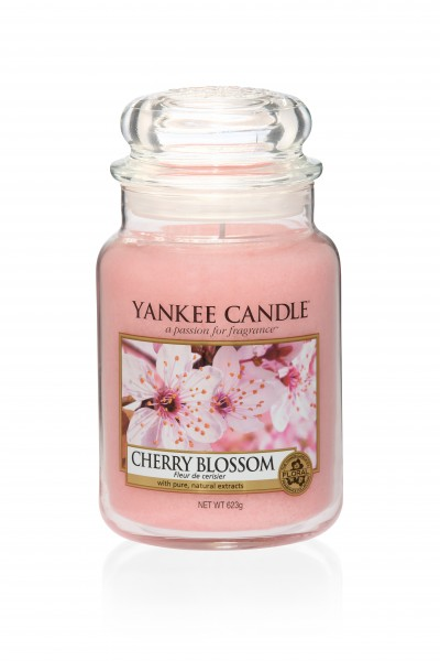 Yankee Candle Classic Großes Glas Cherry Blossom