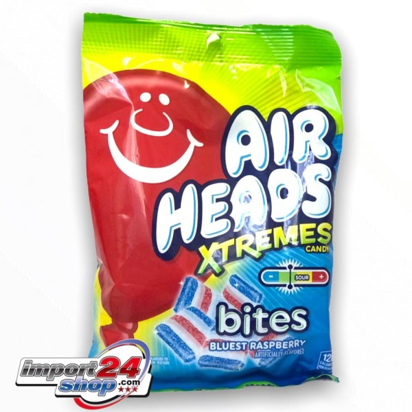 AirHeads XTREMES Candy bites Bluest Raspberry
