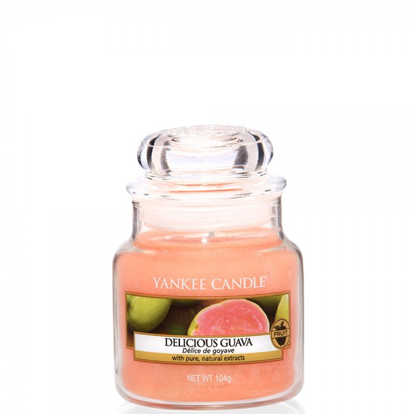 Yankee Candle Classic Kleines Glas Delicious Guava