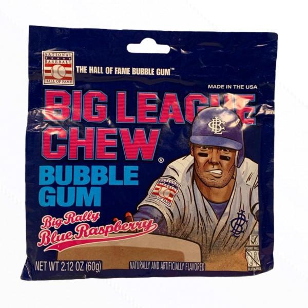 Big League Chew Bubble Gum Big Rally Blue Raspberry
