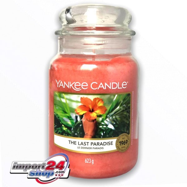 Yankee Candle Klassik Großes Glas The Last Paradise