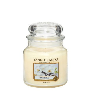 Yankee Candle Classic Mittleres Glas Vanilla