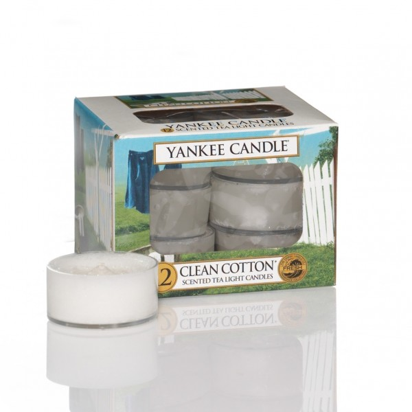 Yankee Candle Teelicht Clean Cotton®