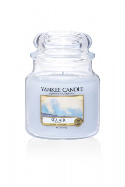 Yankee Candle Classic Mittleres Glas Sea Air