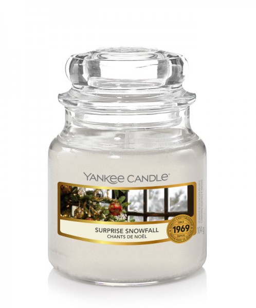 Yankee Candle Classic Kleines Glas Surprise Snowfall