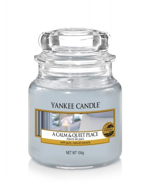 Yankee Candle Klassik Kleines Glas A Calm & Quiet Place