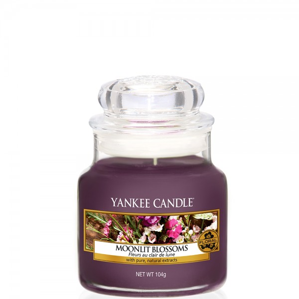 Yankee Candle Classic Kleines Glas Moonlit Blossoms