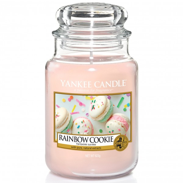 Yankee Candle Classic Großes Glas Rainbow Cookie