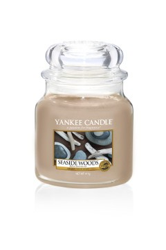 Yankee Candle Classic Mittleres Glas Seaside Woods