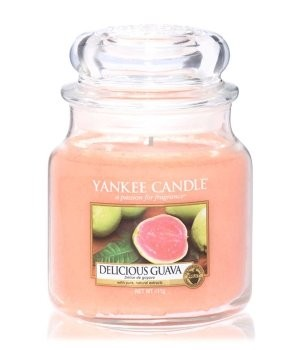 Yankee Candle Classic Mittleres Glas Delicious Guava