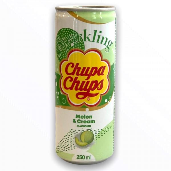 Chupa Chups Sparkling Melon & Cream (250ml.)