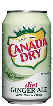 Canada Dry Diet (Dose) (355 ml.)