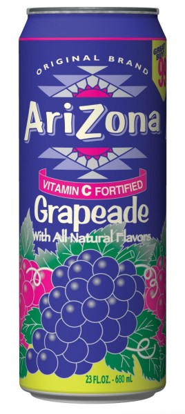 Arizona - Grapeade (680 ml.) (Dose)