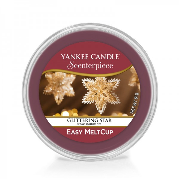 Yankee Candle Melt Cup Glittering Star
