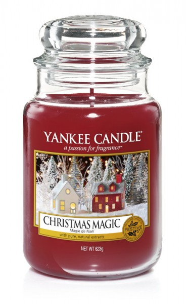 Yankee Candle Classic Großes Glas Christmas Magic