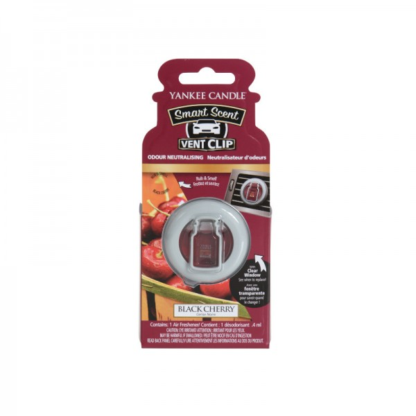 Yankee Candle Smart Scent Vent Clip Black Cherry