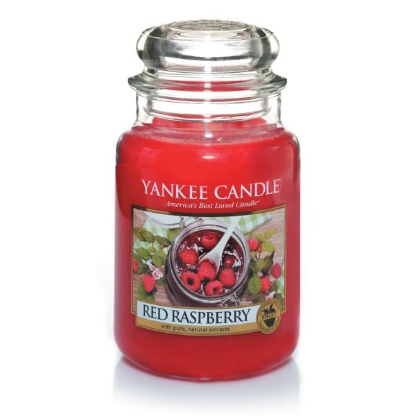 Yankee Candle Klassik Großes Glas Red Raspberry